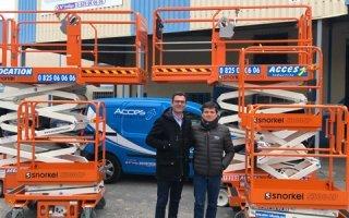 Une commande de 60 ciseaux Snorkel pour Acces Industrie