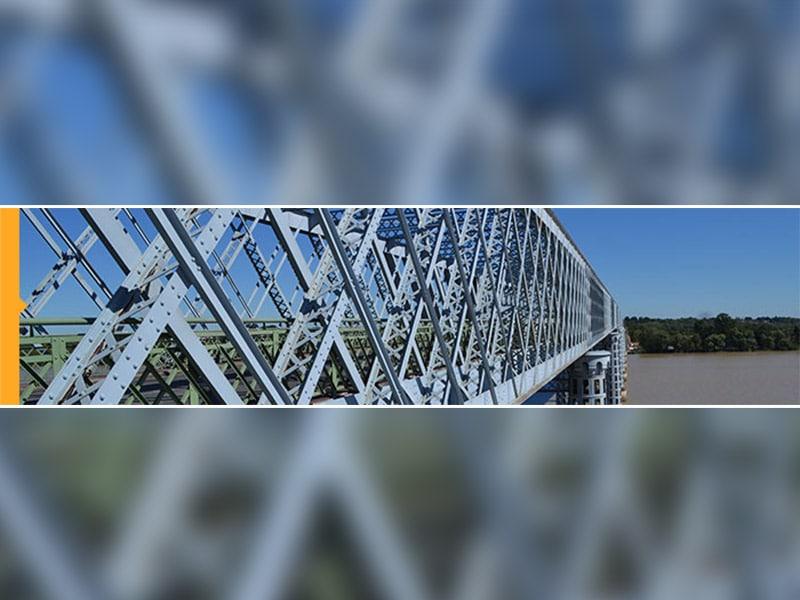 La nouvelle vie du pont Eiffel sur la Dordogne - Batiweb