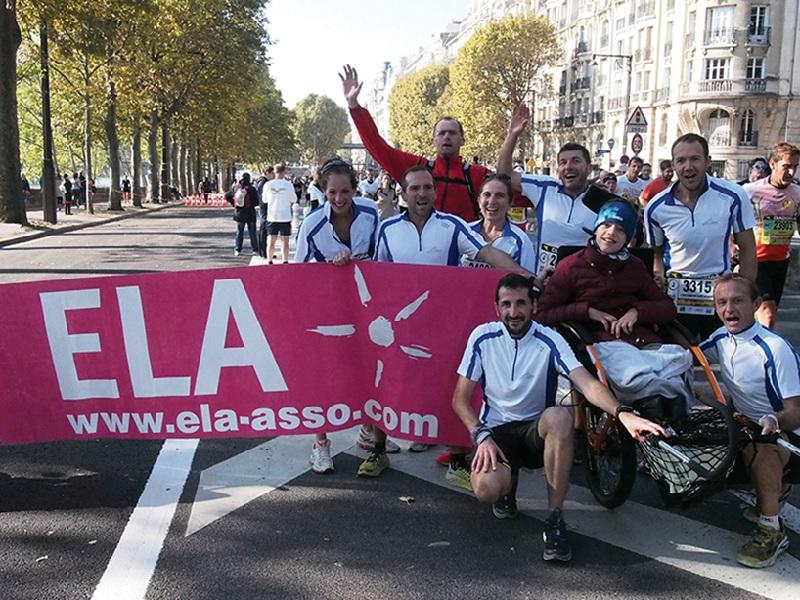 Weber chausse ses baskets pour ELA et récolte 3.500 € de dons - Batiweb