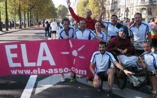 Weber chausse ses baskets pour ELA et récolte 3.500 € de dons
