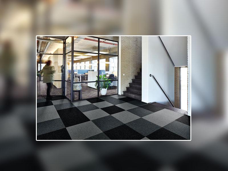 Tapis de propreté Coral de Forbo Flooring Systems : nouveau format en dalles et couleurs inédites ! - Batiweb
