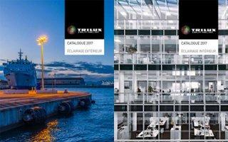 Catalogues 2017 : un référencement pertinent et exhaustif de la gamme TRILUX