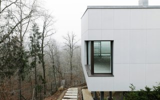 FibreC concrete skin - façades épurées en panneaux béton armé de fibres de verre - Batiweb