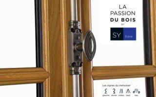 NOUVELLE GAMME DE FENÊTRES BOIS SY LE®, LA PASSION DU MENUISIER by SYbaie