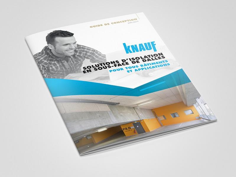 """Knauf signe un Guide de Conception """"Solutions d'isolation en sous-face de dalles"""" - Batiweb"""