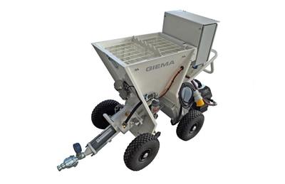 Putzmeister – Évolution de la gamme de machines électrique Giema Batiweb