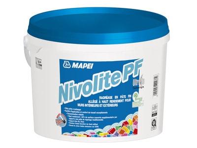 Premier ragréage en pâte allégé : Avec NIVOLITE PF, ragréez léger ! Batiweb