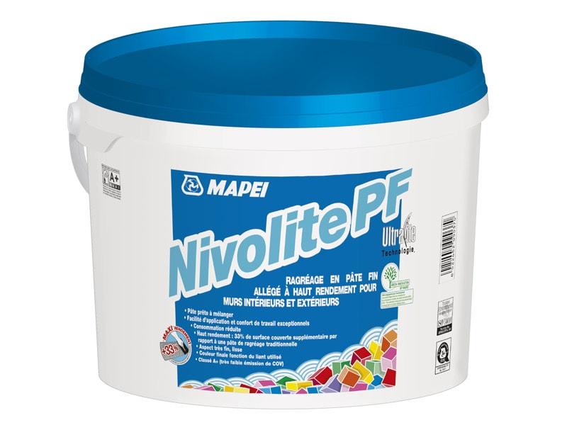 Premier ragréage en pâte allégé : Avec NIVOLITE PF, ragréez léger ! - Batiweb