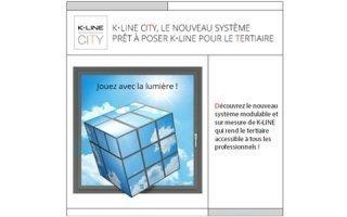 K-LINE CITY, le nouveau système prêt-à-poser K-LINE pour le tertiaire !