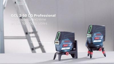 Bosch GCL 2-50 Professional: la nouvelle gamme de lasers points et lignes Batiweb