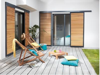 Brise-Soleil coulissant : protection solaire et élégance Batiweb