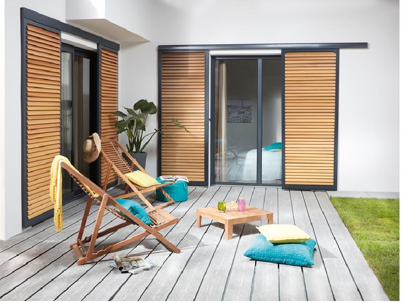 Brise-Soleil coulissant : protection solaire et élégance - Batiweb