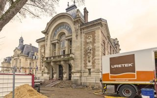 URETEK® rénove le théâtre d'Evreux, classé aux monuments historiques :   Batiweb
