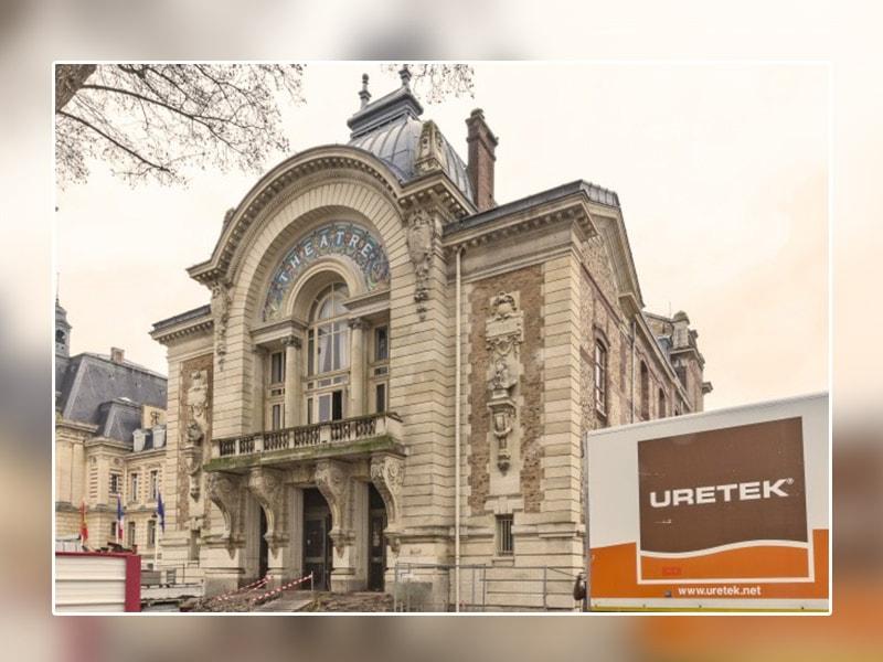 URETEK® rénove le théâtre d'Evreux, classé aux monuments historiques - Batiweb
