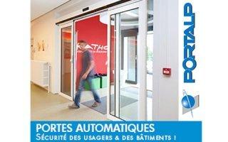 Portalp, des solutions pour améliorer l'accessibilité et renforcer la sécurité des bâtiments.