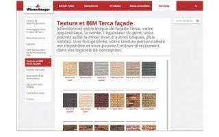 Une nouvelle application Wienerberger : Texture et BIM Terca Façade