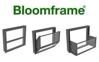 BLOOMFRAME®, fenêtre balcon interactive de KAWNEER, pour créer des espaces de vie différents