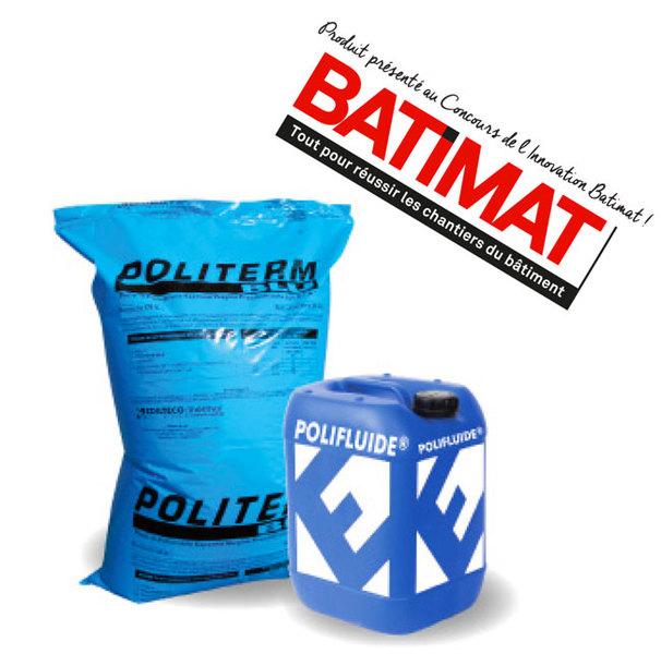 Au Salon Batimat Edilteco présente Polifluide® 900 et Polifluide® 1200