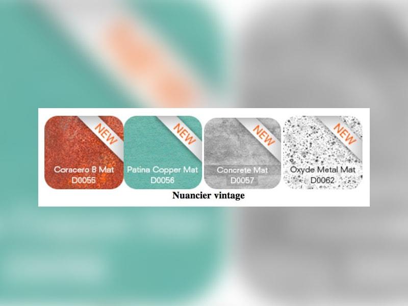 Un nouveau nuancier vintage pour étoffer la palette  de design de la marque architecture ALUCOBOND® - Batiweb