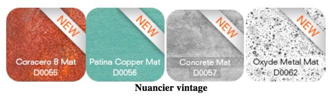 Un nouveau nuancier vintage pour étoffer la palette  de design de la marque architecture ALUCOBOND®