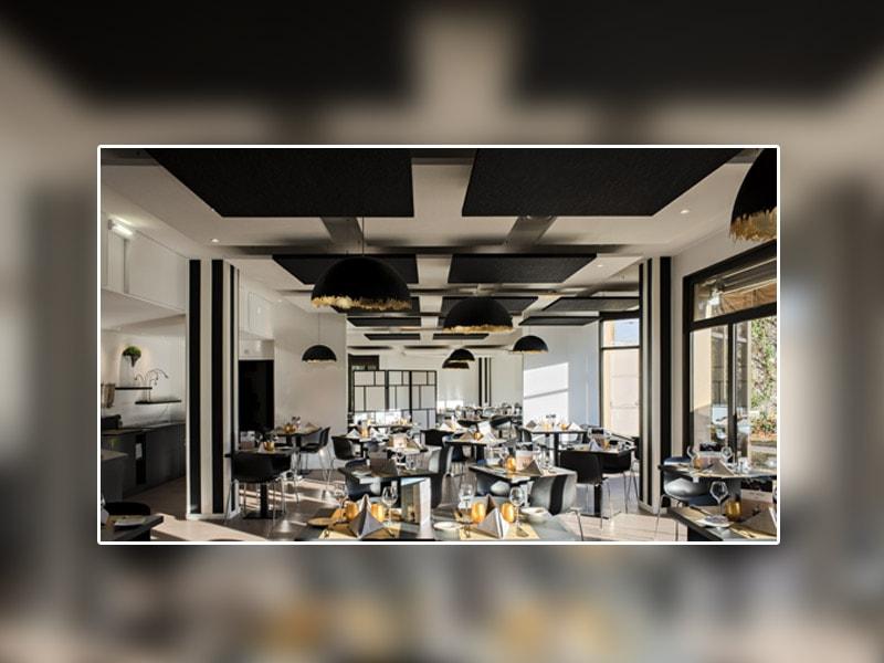 HÔTEL MERCURE TOURS SUD : Le savoir-faire acoustique de KNAUF AMF séduit le secteur hôtelier - Batiweb