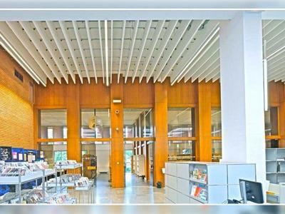 Une surface de 2045 m² d'OPTIMA BAFFLES ET OPTIMA L CANOPY pour l'aménagement du nouveau learning center de la bibliothèque universitaire de Toulouse (31) Batiweb