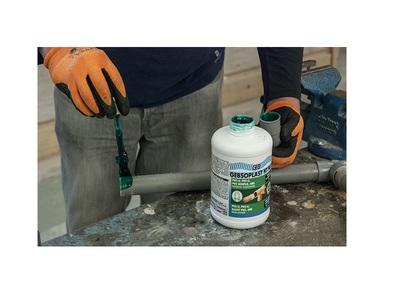 GEBSOPLAST HT PLUS, la première colle hautes performances sans THF, de qualité eau potable, compatible sur différents PVC et sur ABS ! Batiweb