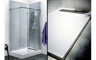 Nouveau : Espace Douche CAREA®, la solution minérale clé en main pour la salle de bain Batiweb