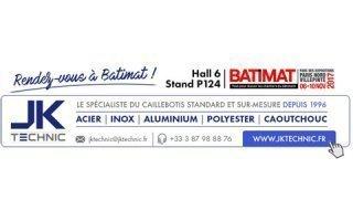 JK Technic vous donne rendez-vous à Batimat ! Batiweb