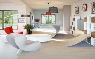 Les sols Modul'up by Forbo à H'Expo : facilité de pose & d'entretien, résistance, confort et design
