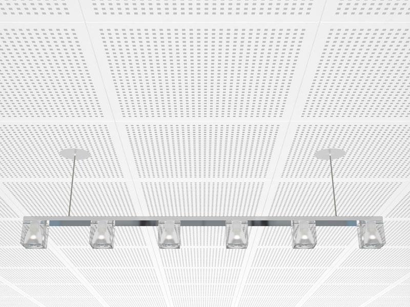 La gamme de dalles Gyptone® Activ'Air® D2 de la marque Placo® - Batiweb