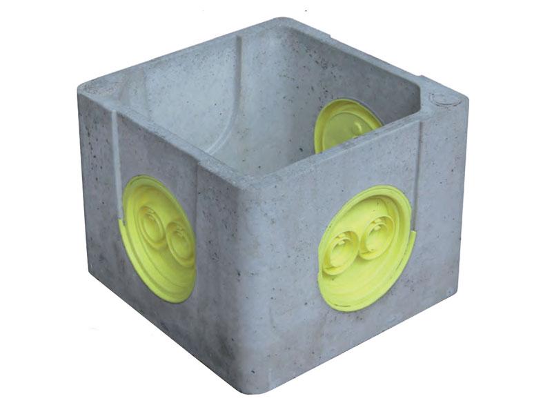 Nouvelle boîte EPERS : Boîtes béton à opercules pour Eaux Pluviales Et Réseaux Secs, Gamme élargie à 3 modèles - Batiweb