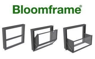 BLOOMFRAME®, fenêtre balcon interactive, pour créer des espaces de vie différents