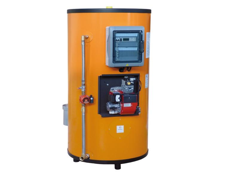 Large gamme de Générateurs E.C.S. au gaz, destinée aux marchés collectif, tertiaire et industriel