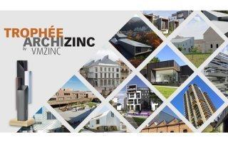 Trophée Archizinc par VMZINC® : Architectes, présentez vos projets réalisés avec du zinc VMZINC !