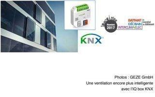 Des façades éco énergétiques – ventilation naturelle et intelligente par Geze