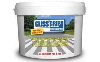 Recouvrir un sol glissant GLISS'GRIPColor Express®, la solution révolutionnaire !