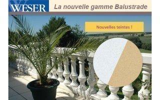La nouvelle gamme Balustrade Weser