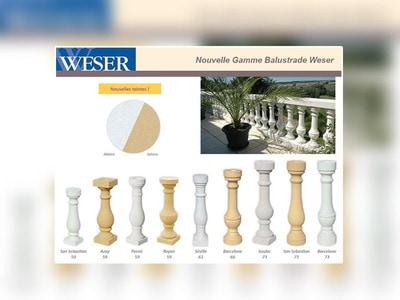 La nouvelle gamme Balustrade Weser Batiweb