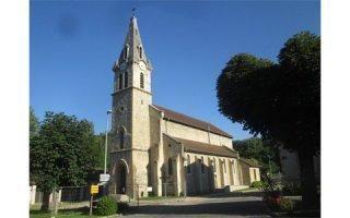 Stabilisation d'une église en Isère ayant perdu ses pieux !