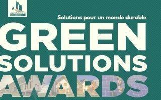 Green Solutions Awards : c'est parti pour l'édition 2018 !