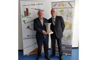 L'entreprise Syscobat, lauréate du trophée « Construire demain »