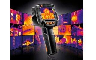 Nouvelles Caméras Thermiques TESTO : des fonctions innovantes pour une thermographie connectée Batiweb