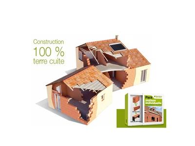 Pourquoi opter pour une maison 100 % terre cuite avec le pack maison individuelle Batiweb