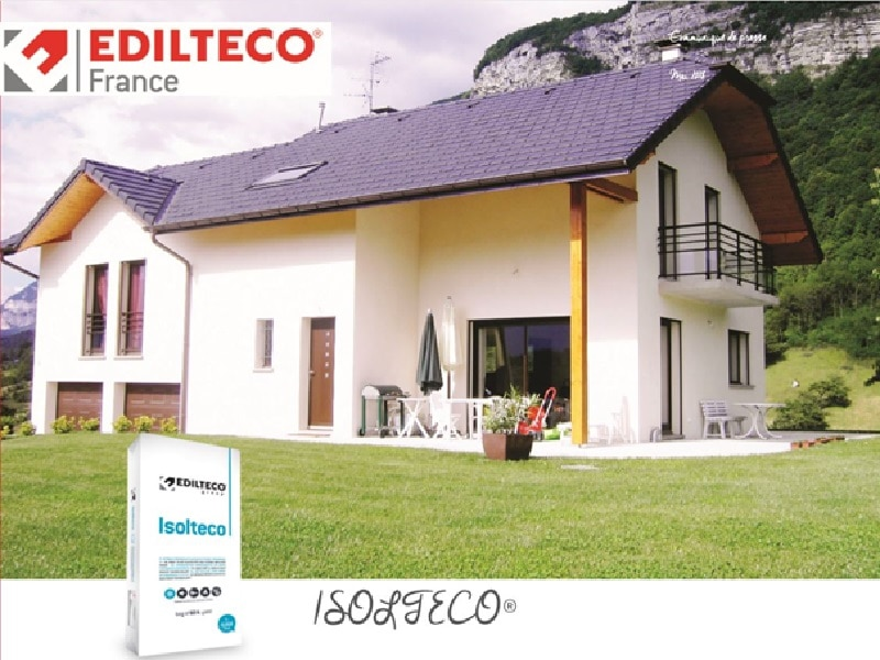 Le nouvel enduit léger isolant pour l'isolation thermique des façades les plus complexes - Batiweb