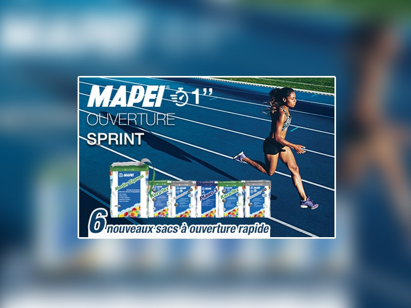 MAPEI poursuit son SPRINT ! - Batiweb