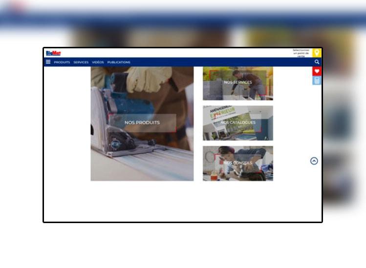 NOUVEAU SITE BIGMAT, une mine d'informations sur les produits et les points de vente  Construction, rénovation, promotions et opérations spéciales