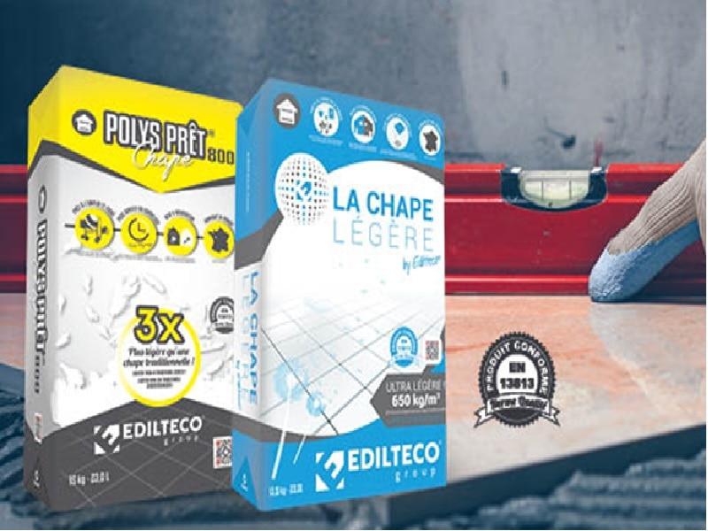 Les chapes légères Edilteco®, des atouts de poids ! - Batiweb