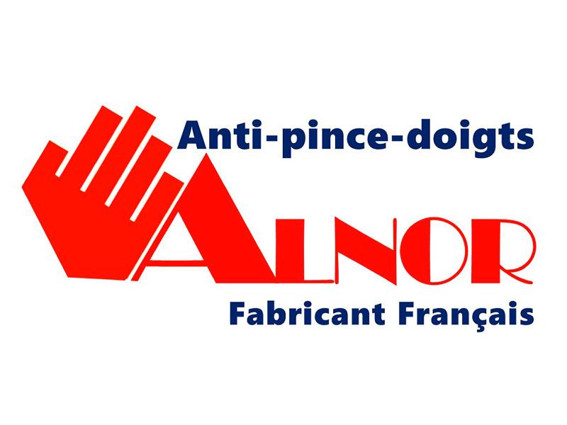 STOP AUX ACCIDENTS DANS LES CHARNIERES L'ANTI-PINCE-DOIGTS breveté UNIVERSEL RIGIDE ARTICULE  pour une sécurité Maximum