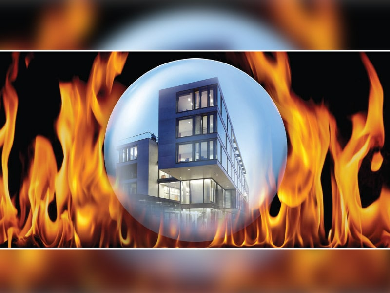 Nouvelle porte pare-flamme E30 WICONA - Batiweb